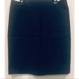 J. Crew Black Pencil Skirt